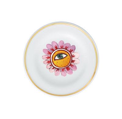 Arts de la table - Assiettes - Coupelle Fiore Occhio / Ø 9,5 cm - Bitossi Home - Œil-fleur - Porcelaine