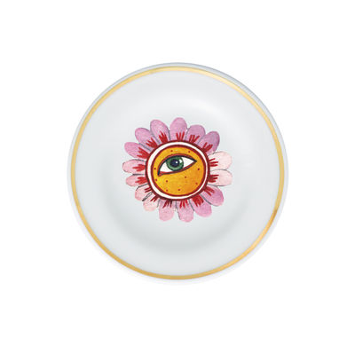 Coupelle Fiore Occhio / Ø 9,5 cm - Bitossi Home multicolore en céramique
