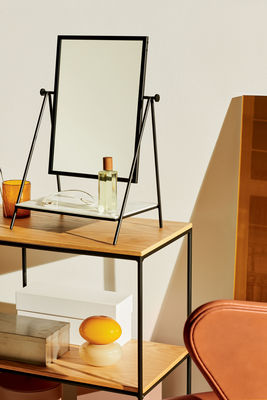 Fritz Hansen Table Mirror Free Standing Mirrors Black Made In Design Uk