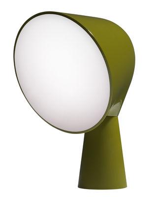 Scopri lampada da tavolo binic verde di foscarini made in design italia for Lampada da tavolo verde
