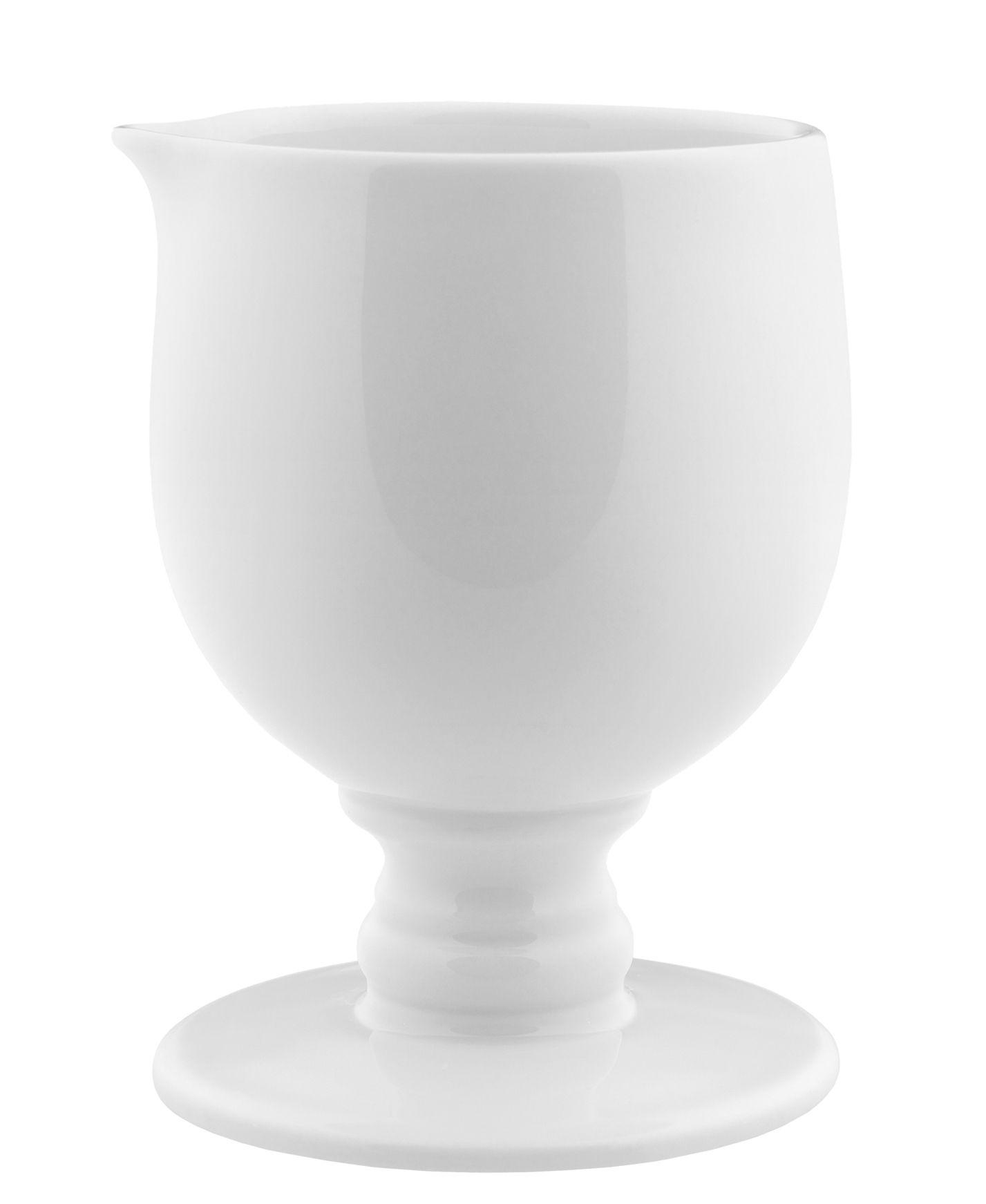 Küche - Zuckerdosen und Milchkännchen - Dressed Milchkännchen - Alessi - Weiß - Porzellan