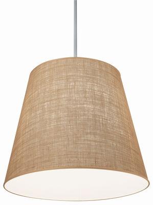 Lighting - Pendant Lighting - Gilda Pendant by Pallucco - Natural juta - Hessian