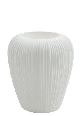 Pot de fleurs Skin Small / H 60 cm - MyYour blanc en matière plastique