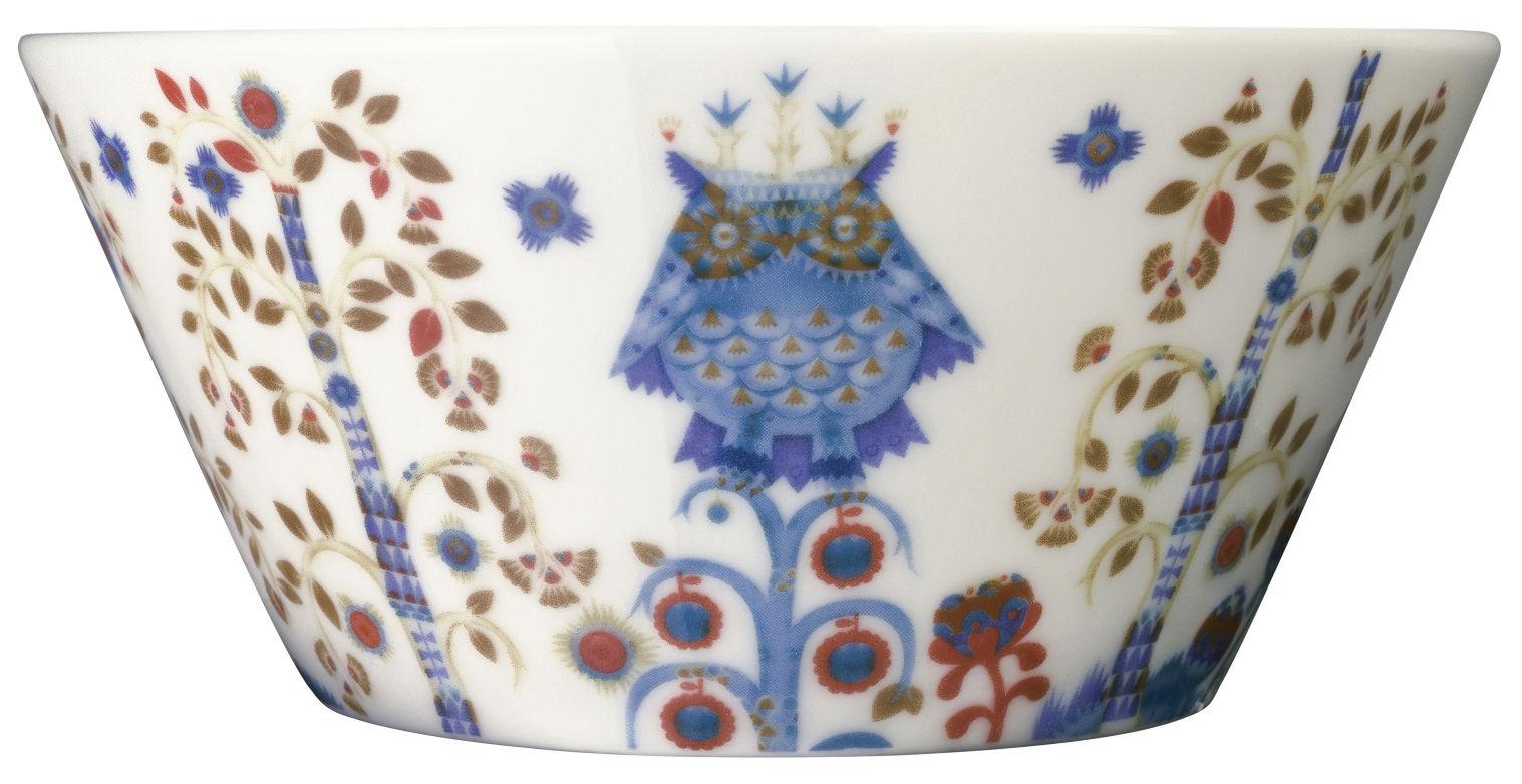 Tischkultur - Salatschüsseln und Schalen - Taika Schale - Iittala - Weißer Hintergrund - Keramik