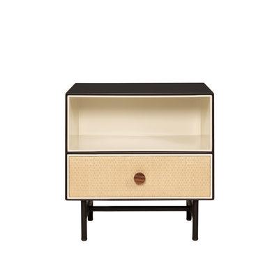 Table de chevet Essence / Bois & rotin - Maison Sarah Lavoine noir en bois