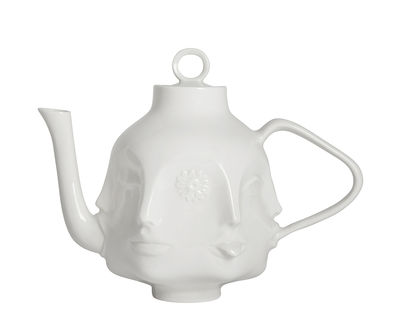 Kitchenware - Kettles & Teapots - Dora Maar Teapot by Jonathan Adler - White - China
