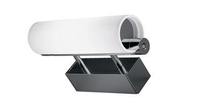 Luminaire - Appliques - Applique Norma L 25 cm - Nemo - Aluminium - L 25 cm - Aluminium, Verre pyrex