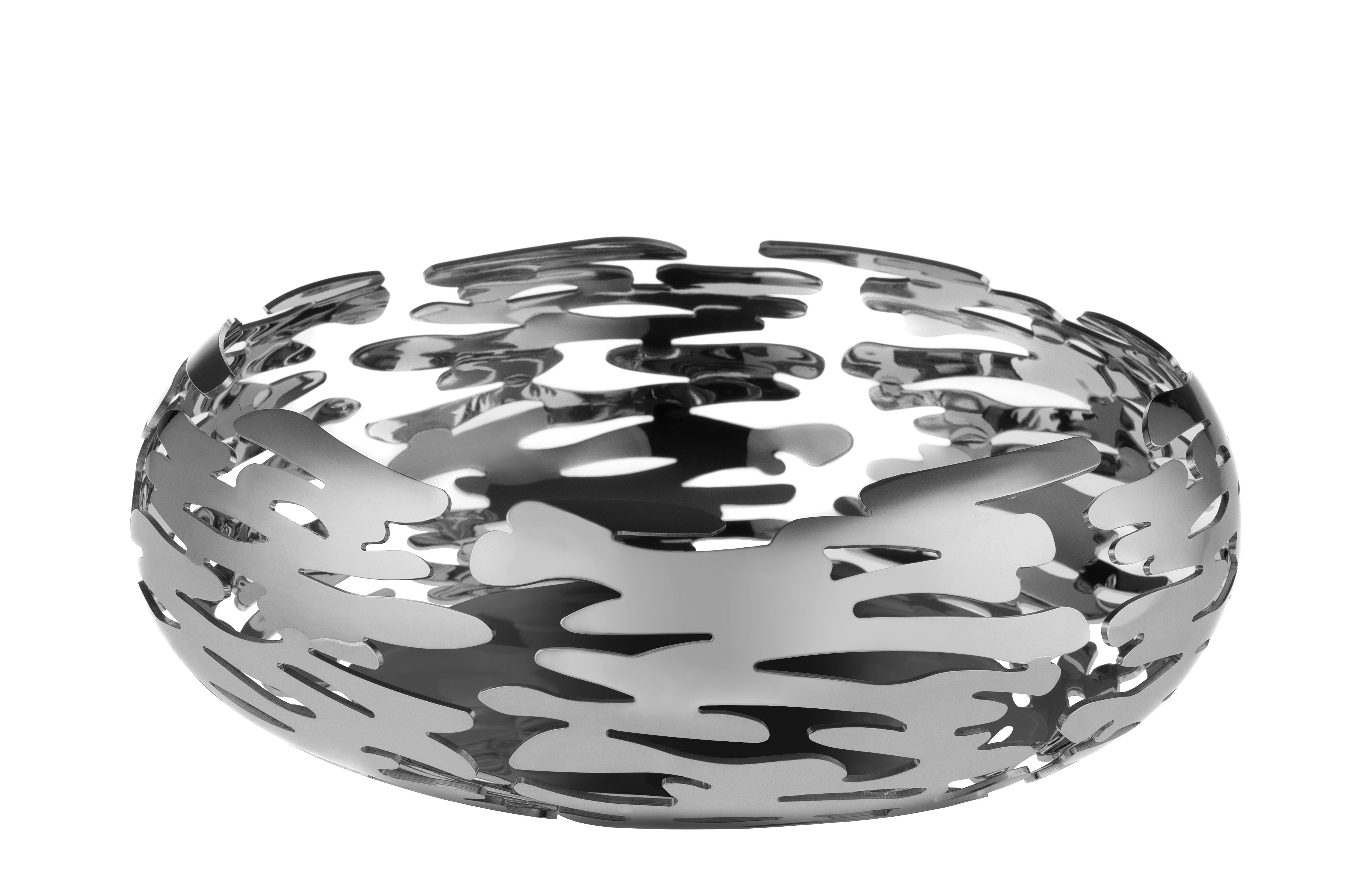 Tableware - Fruit Bowls & Centrepieces - Barknest Basket by Alessi - Steel - Stainless steel