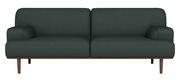 Canapé droit Madison Tissu 2½ places L 204 cm Bolia vert foncé en tissu