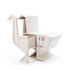 Sending Animals Oie 2.0 End table - / Storage - L 65 x H 66 cm by Seletti