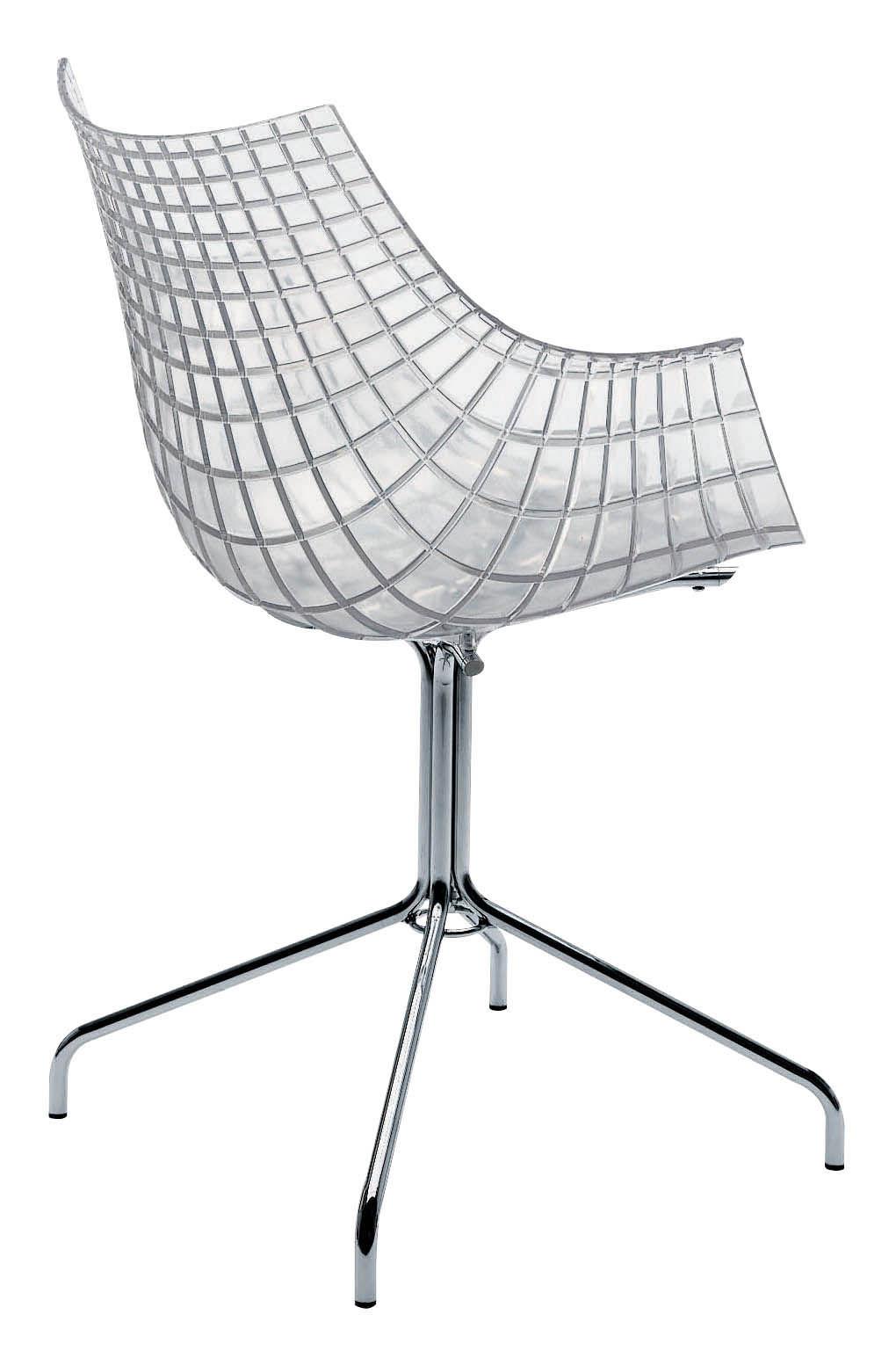 fauteuil meridiana polycarbonate transparent transparent driade made in design. Black Bedroom Furniture Sets. Home Design Ideas