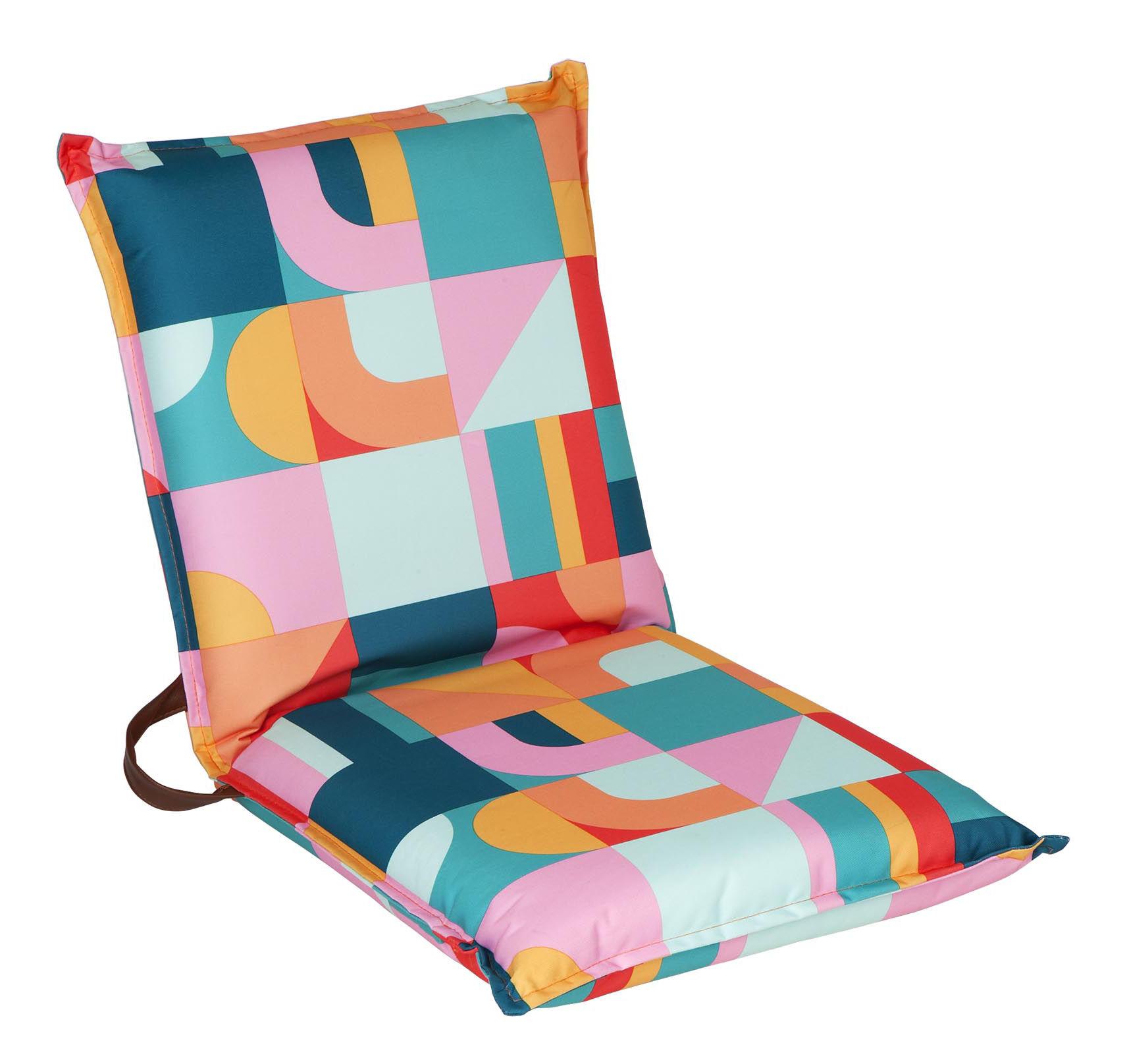 Jardin - Fauteuils - Fauteuil de plage Islabomba / Pliable - Sunnylife - Islabomba / Multicolore - Tissu
