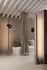 Cupido LED Floor lamp - / 2 lampshades - Concrete base - H 220 cm by Karman