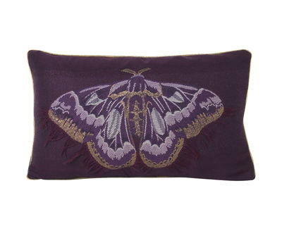 Salon - Papillon Kissen / 40 x 25 cm - Ferm Living - Violett