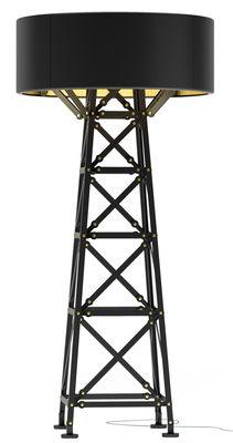 Lampadaire Construction Lamp Medium / H 139 cm - Moooi noir en métal