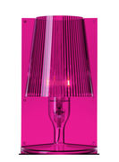 Lampe de table Take - Kartell rose fuchsia en matière plastique