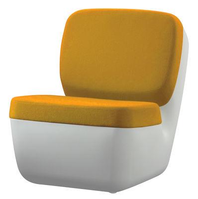 Nimrod Lounge Sessel - Magis - Weiß,Gelb