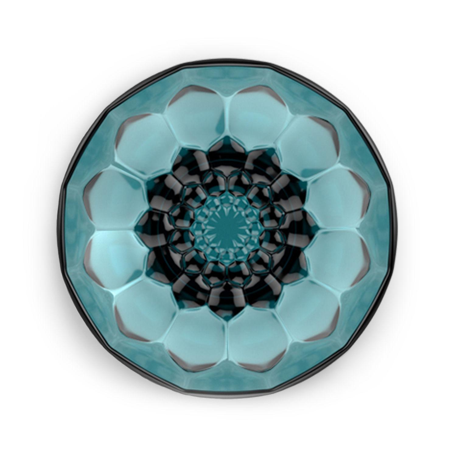 Mobilier - Portemanteaux, patères & portants - Patère Jellies Family M / Ø 13 x H 6 cm - Kartell - Bleu ciel - PMMA