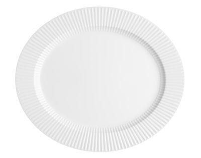 Plat de service Legio Nova / Rond - Ø 37 cm - Eva Trio blanc en céramique