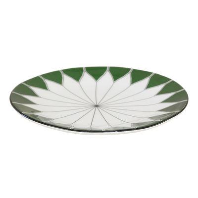 Tableware - Plates - Daria Plate - / Ø 29 cm - Hand-painted ceramic by Maison Sarah Lavoine - Thicket - Glazed ceramic