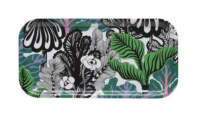 Arts de la table - Plateaux - Plateau Kaalimetsä / Bois - 43 x 22 cm - Marimekko - Kaalimetsä / Noir, vert - Laminé de bouleau