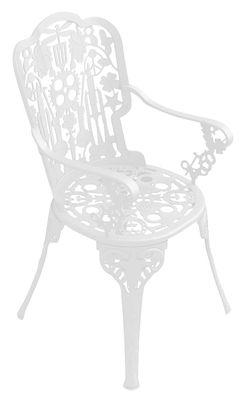 Arredamento - Sedie  - Poltrona Industry Garden - Seletti - Bianco - Alluminio