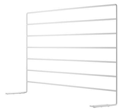 Arredamento - Mobili da ufficio - Schermo String Works - per scrivania di String Furniture - Schermo / Bianco - Acciaio laccato