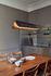 Sospensione Respiro LED - / L 120 cm - Alluminio di DCW éditions