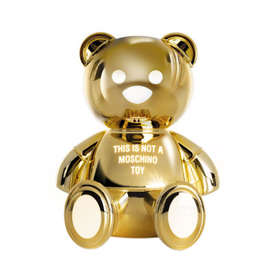 Decoration - Children's Home Accessories - Toy Moschino LED Table lamp - / By Jeremy Scott by Kartell - Gold - Plastic material