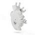 Love in Bloom Vase - Giant / Human heart - Resin / H 60 cm by Seletti