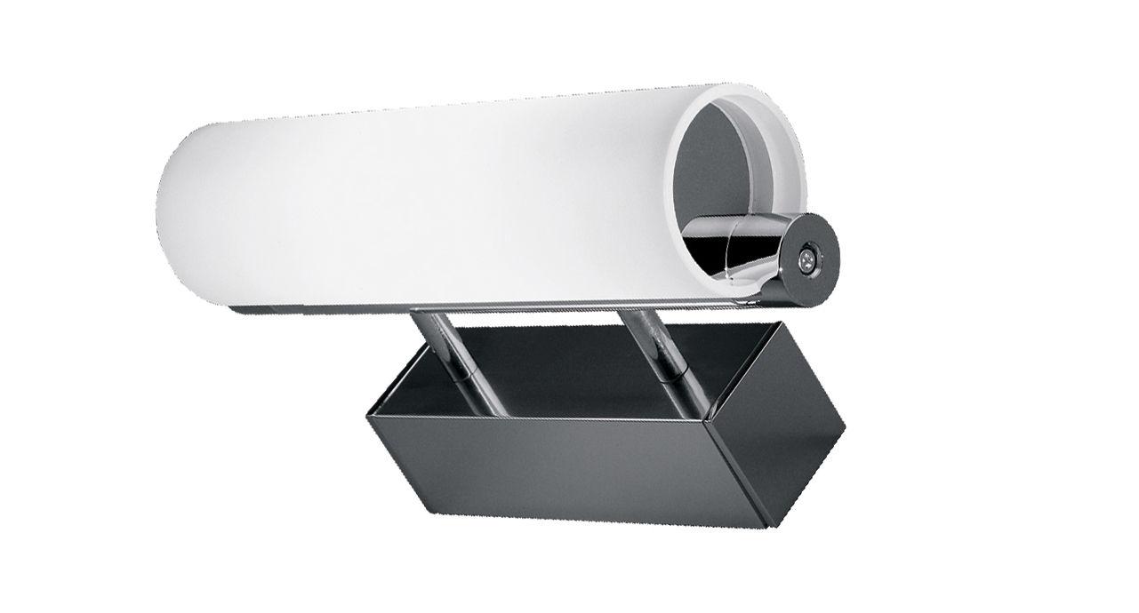 Leuchten - Wandleuchten - Norma Wandleuchte L 25 cm - Nemo - Aluminium - L 25 cm - Aluminium, Verre pyrex