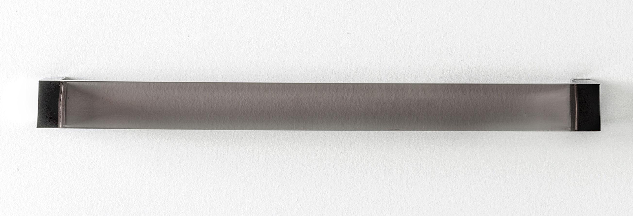 Accessoires - Accessoires für das Bad - Rail Wandtuchhalter / L 45 cm - Kartell - Rauchglas-Optik - PMMA