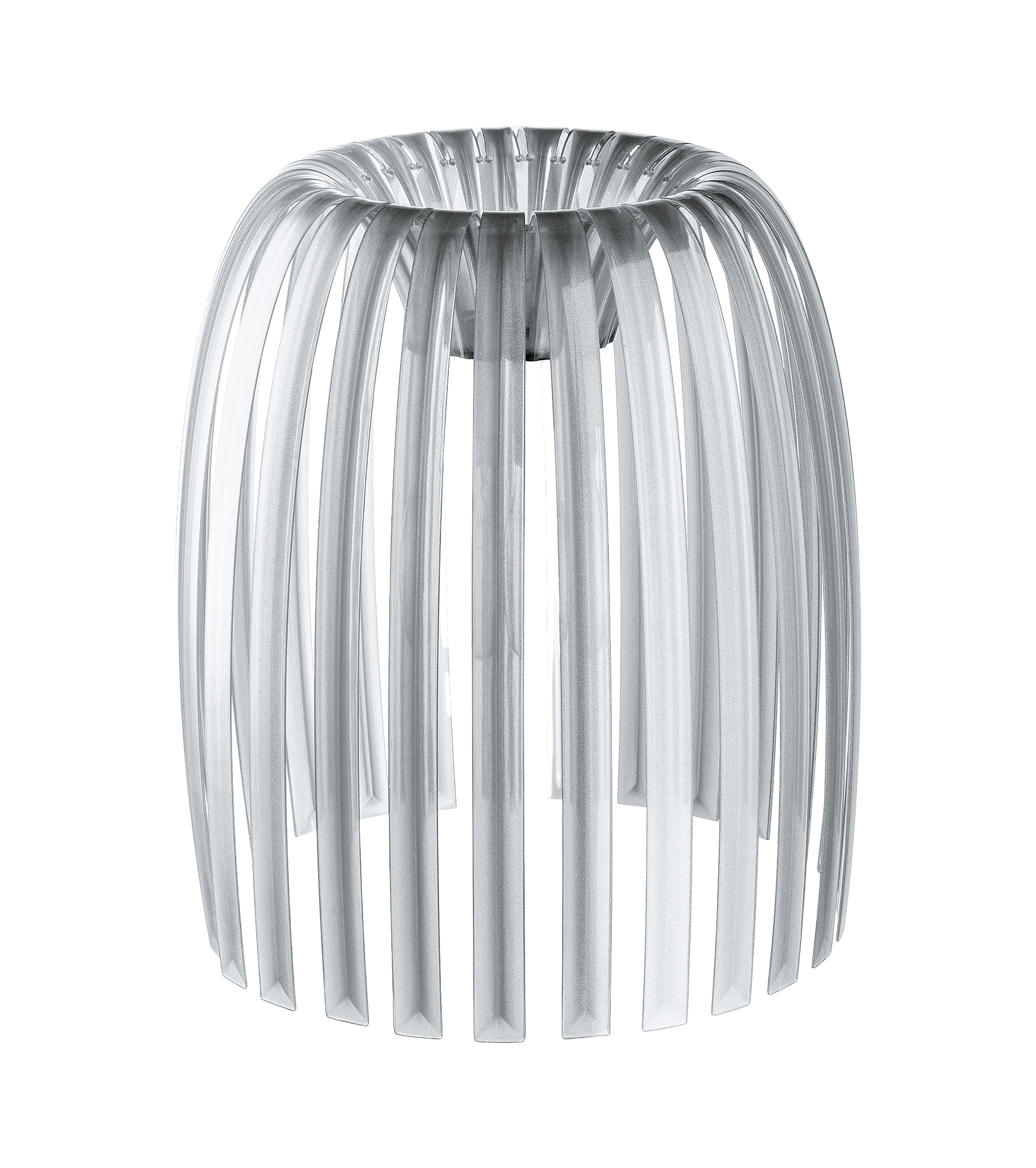 Luminaire - Suspensions - Abat-jour Josephine Medium / Ø 31 x H 34 cm - Koziol - Transparent - Polyéthylène