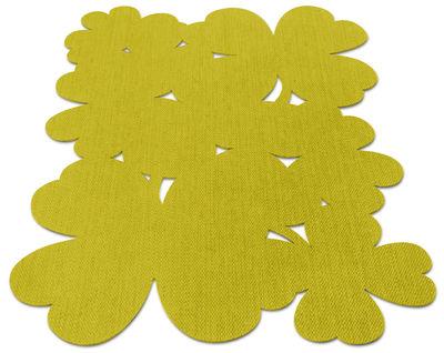 Trèfle Außenteppich / 200 x 200 cm - für außen - Fermob - Ananas