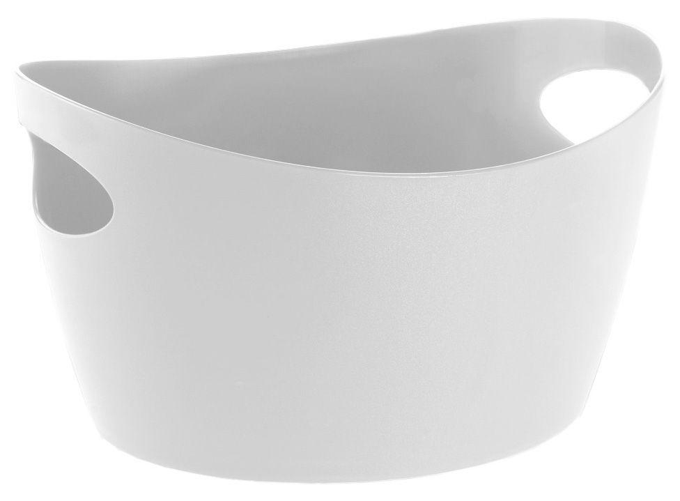 Decoration - For bathroom - Bottichelli XS Basket - L 15 x H 9 cm by Koziol - White - PMMA