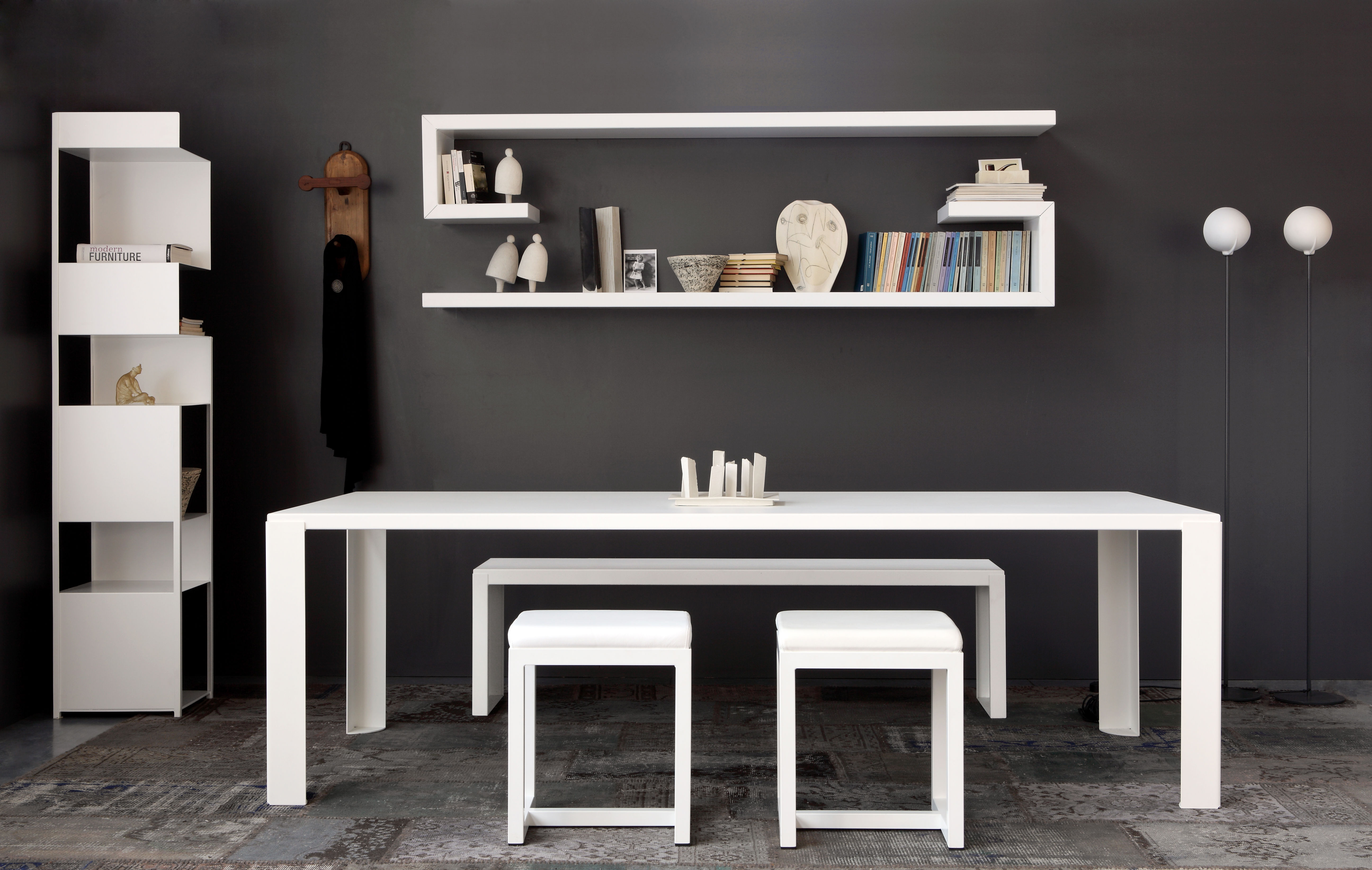 Bench Irony Pad By Zeus Black Made In Design Uk
