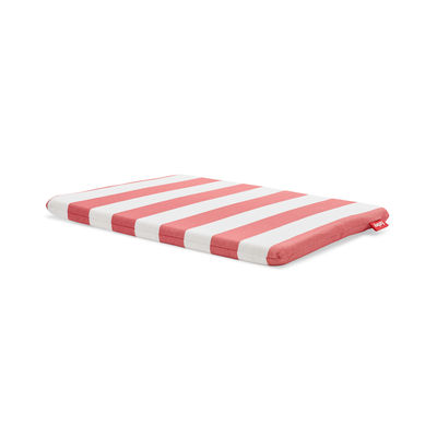 Coussin d'extérieur / Pour tabouret Concrete Seat - Tissu Olefin - Fatboy rouge en tissu