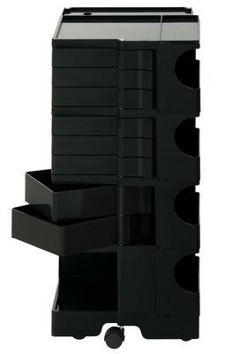Desserte Boby / H 94 cm - 8 tiroirs - B-LINE noir en matière plastique