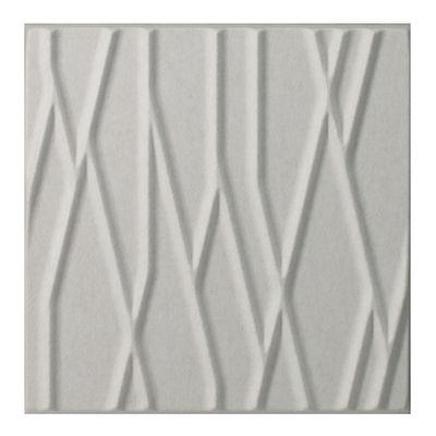 Arredamento - Separè, Paraventi... - Pannello acustico a muro Soundwave Botanic di Offecct - Bianco - Fibra di poliestere, Lana