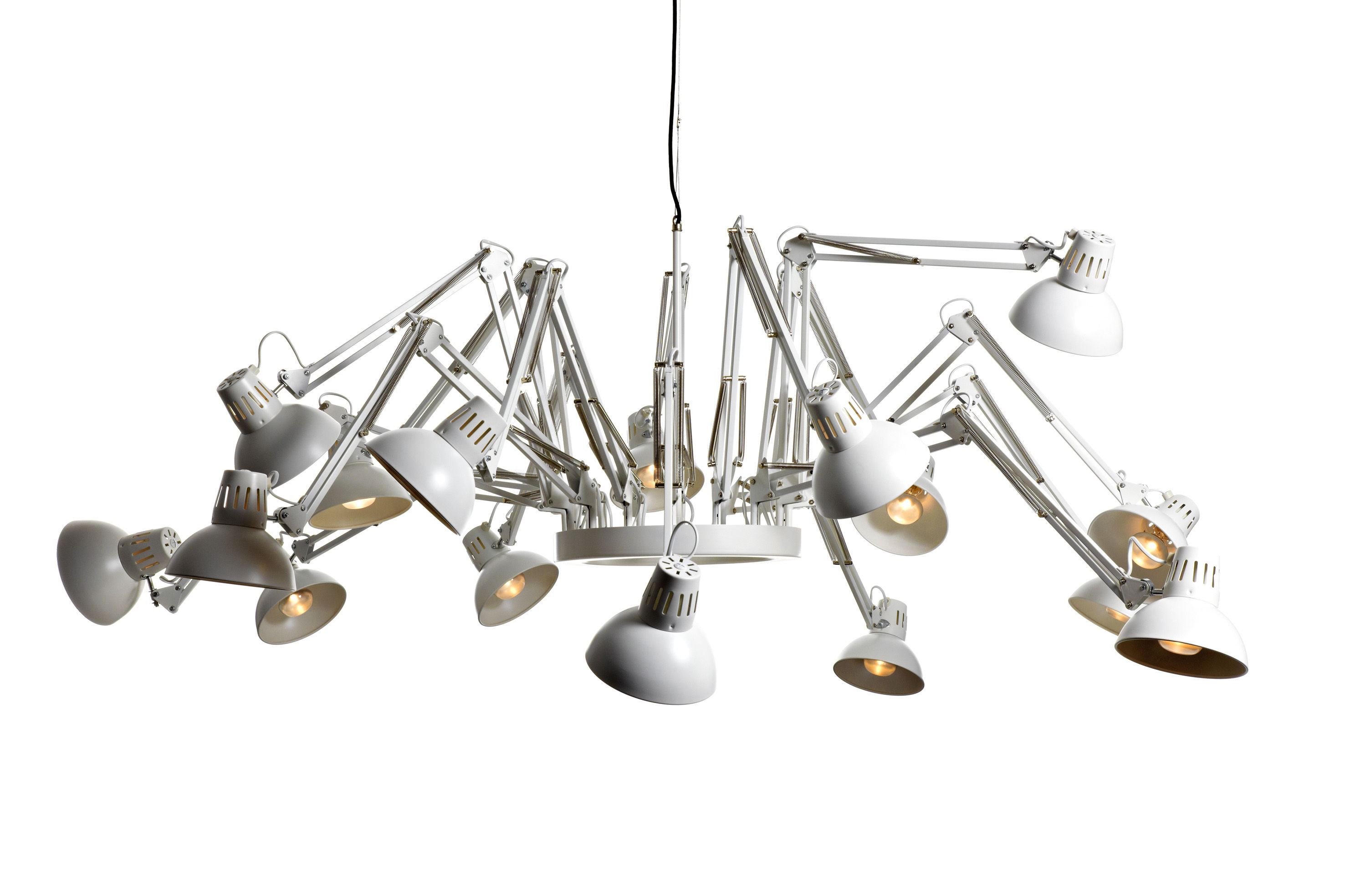 Lighting - Pendant Lighting - Dear Ingo Pendant by Moooi - White - Steel