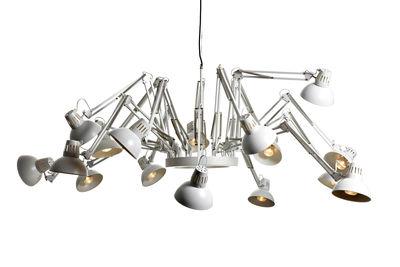 Leuchten - Pendelleuchten - Dear Ingo Pendelleuchte - Moooi - Weiß - Stahl
