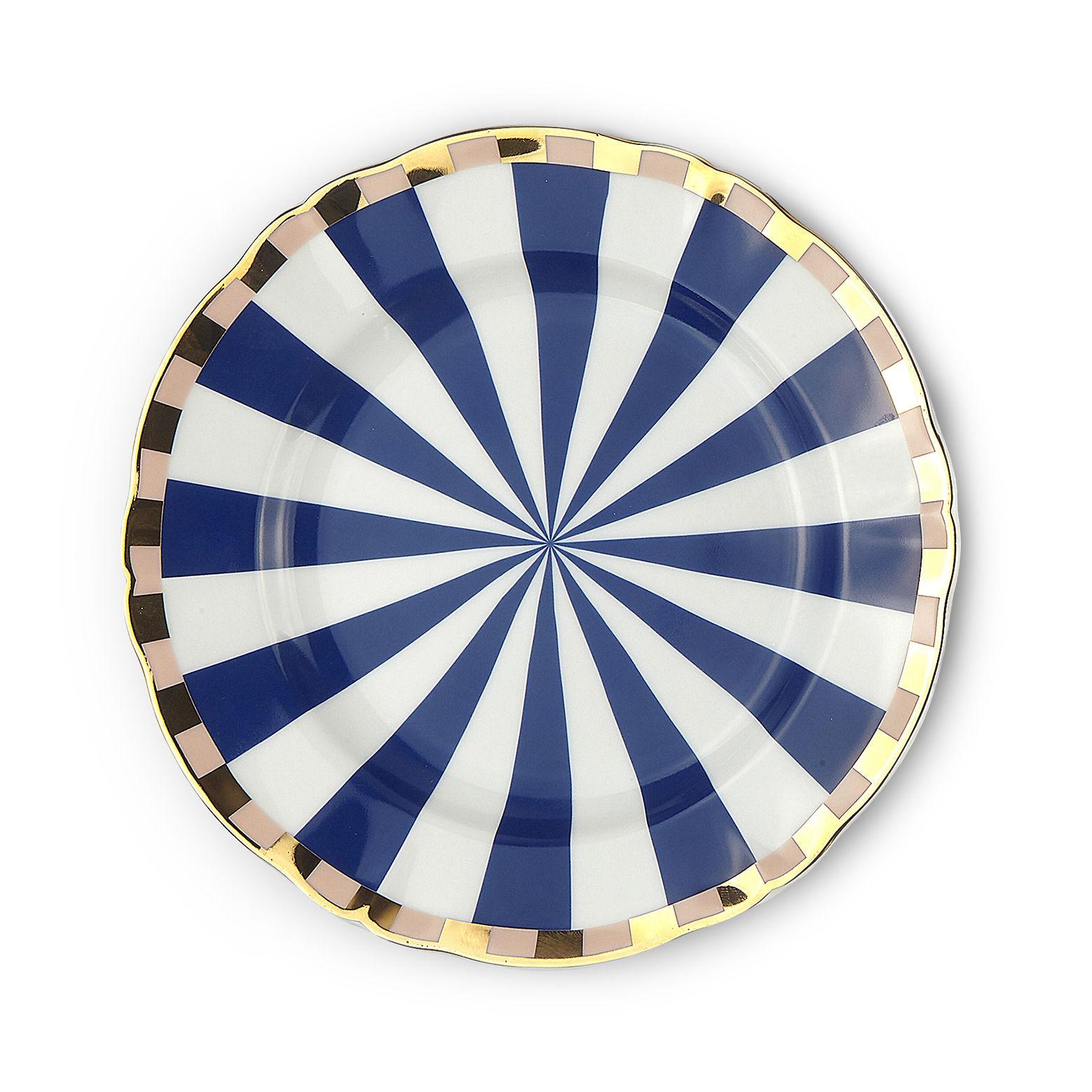 Tavola - Piatti  - Piatto da dessert Fortuna - / Ø 20,5 cm di Bitossi Home - Geometria - Porcellana