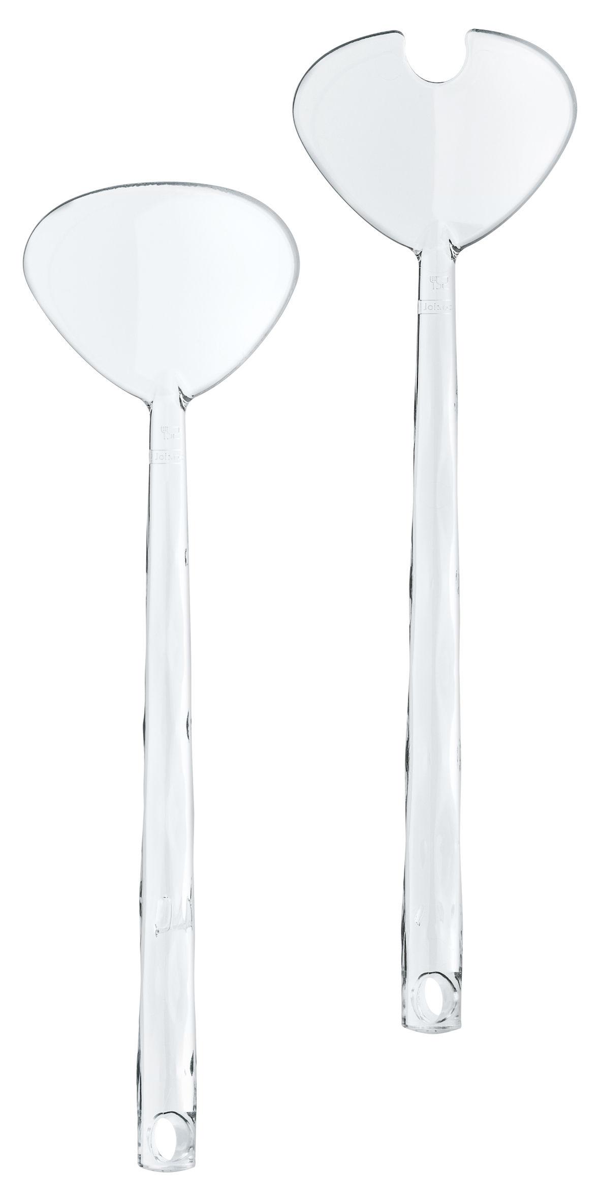 Tischkultur - Couverts de service - Crystal Salatbesteck - Koziol - Transparent (farblos) - Plastik mit SAN