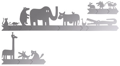 Furniture - Mirrors - Animals on the road self-sticking mirror - Sticker by Domestic -  - Plastic material