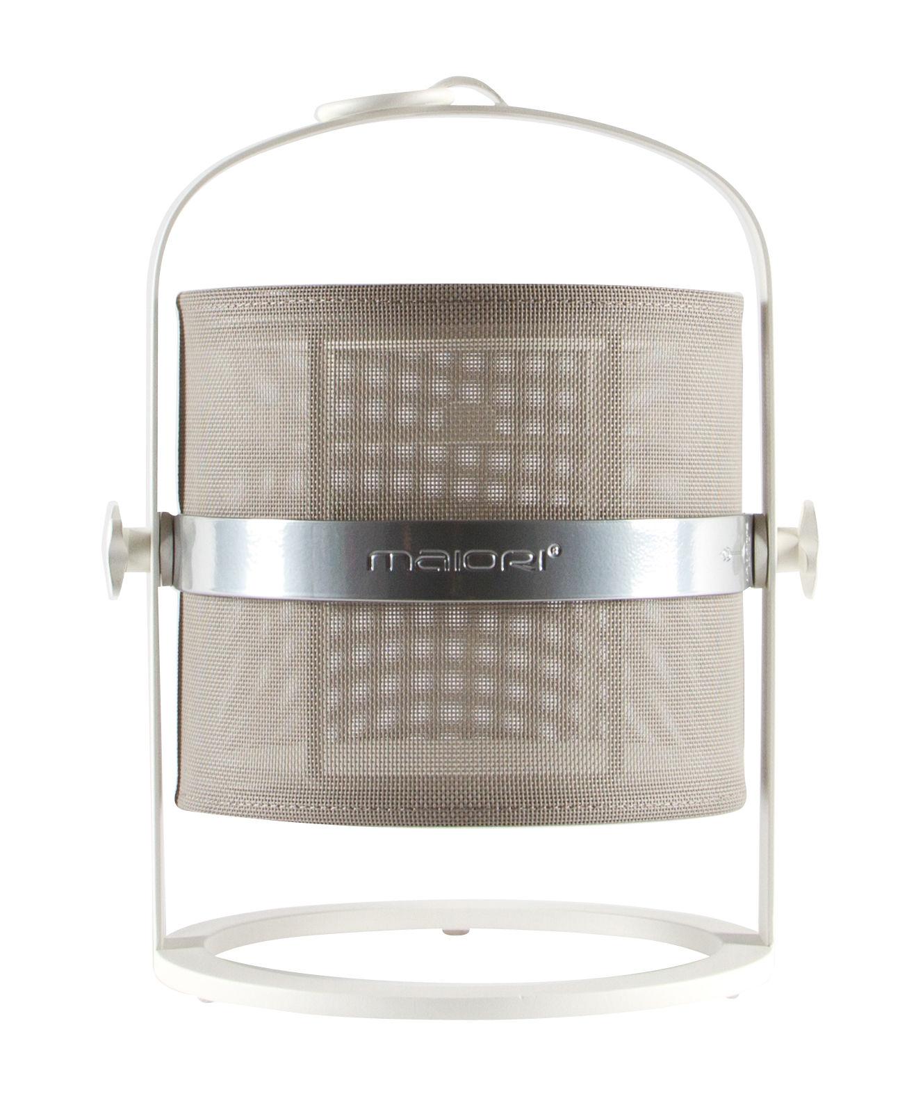 solarlampe la lampe petite led von maiori wei grau. Black Bedroom Furniture Sets. Home Design Ideas