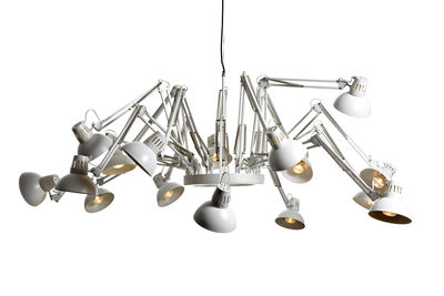 Luminaire - Suspensions - Suspension Dear Ingo - Moooi - Blanc - Acier