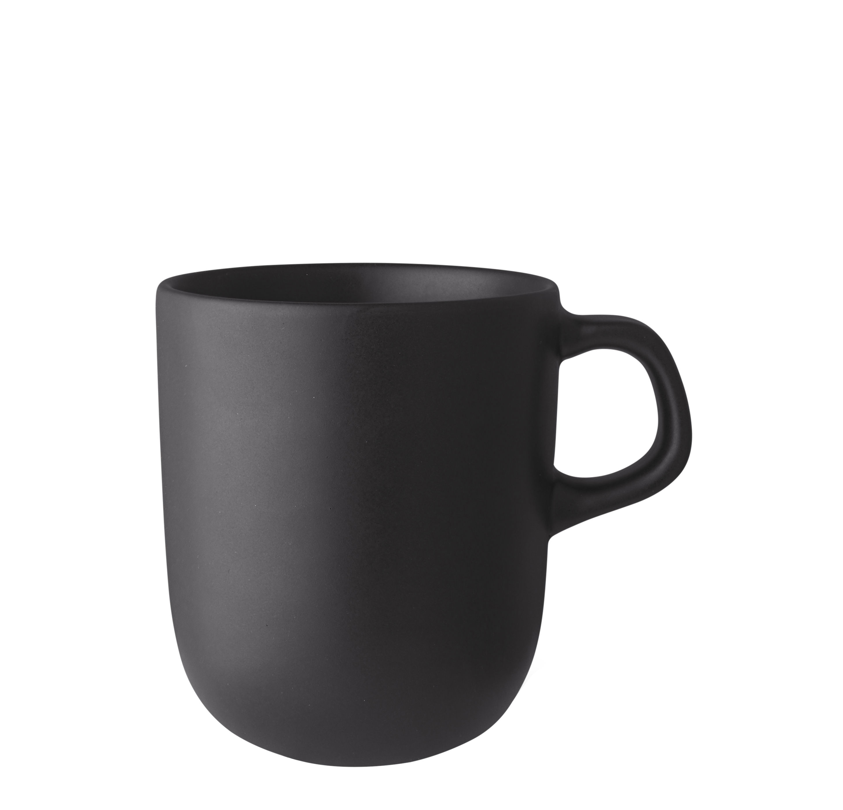 Arts de la table - Tasses et mugs - Tasse Nordic Kitchen / Grès - 40 cl - Eva Solo - Noir mat - Grès