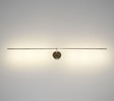 Luminaire - Appliques - Applique Light stick LED / Plafonnier - L 88 cm - Catellani & Smith - Argent - Métal
