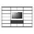 Bibliothèque Easy Irony TV /Compo G - L 352 x H 226 cm - Zeus