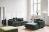 Canapé d'angle Develius B / 3 places - L 220 cm / Dormeuse droite - &tradition